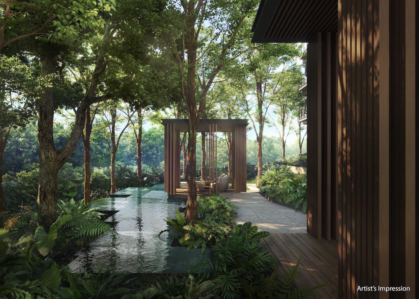 landscaped features at Verdale - EDGEPROP SINGAPORE