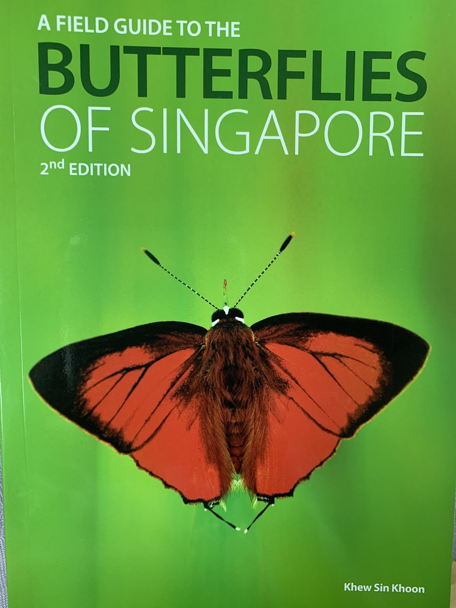 KHEW SIN KHOON - His love of butterflies has also led him to author numerous articles and weighty compendiums such as A Field Guide to the Butterflies of Singapore (2010) and its second edition published in 2015 (pictured)