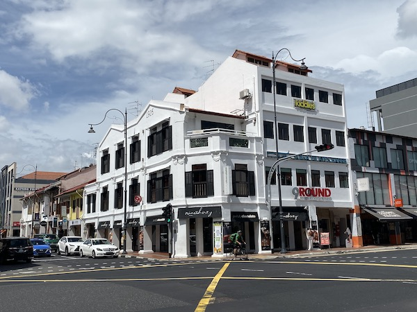 Yip owns four shop units at East Coast Road, which is currently tenanted to NineThirty by Awfully Chocolate on the first level and 9Round Fitness Gym on the second level (Photo: Jean Yip Group)