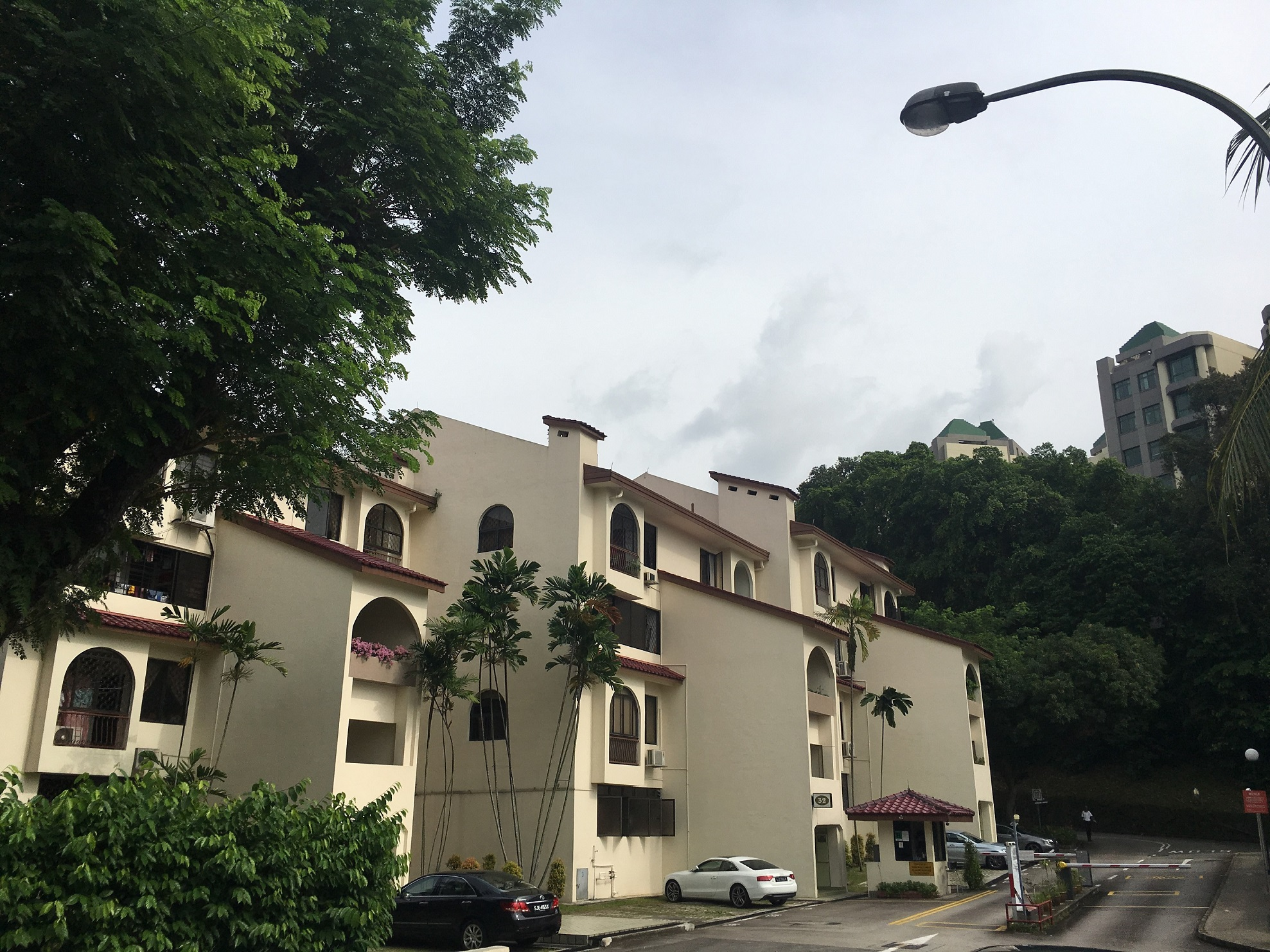 EDGEPROP SINGAPORE -  另一个因为阻断措施而被推迟推出的项目是Forett@Bukit Timah,这是青建地产和Perennial地产对前Goodluck Garden(图)的重新开发(图片来源:莱坊)