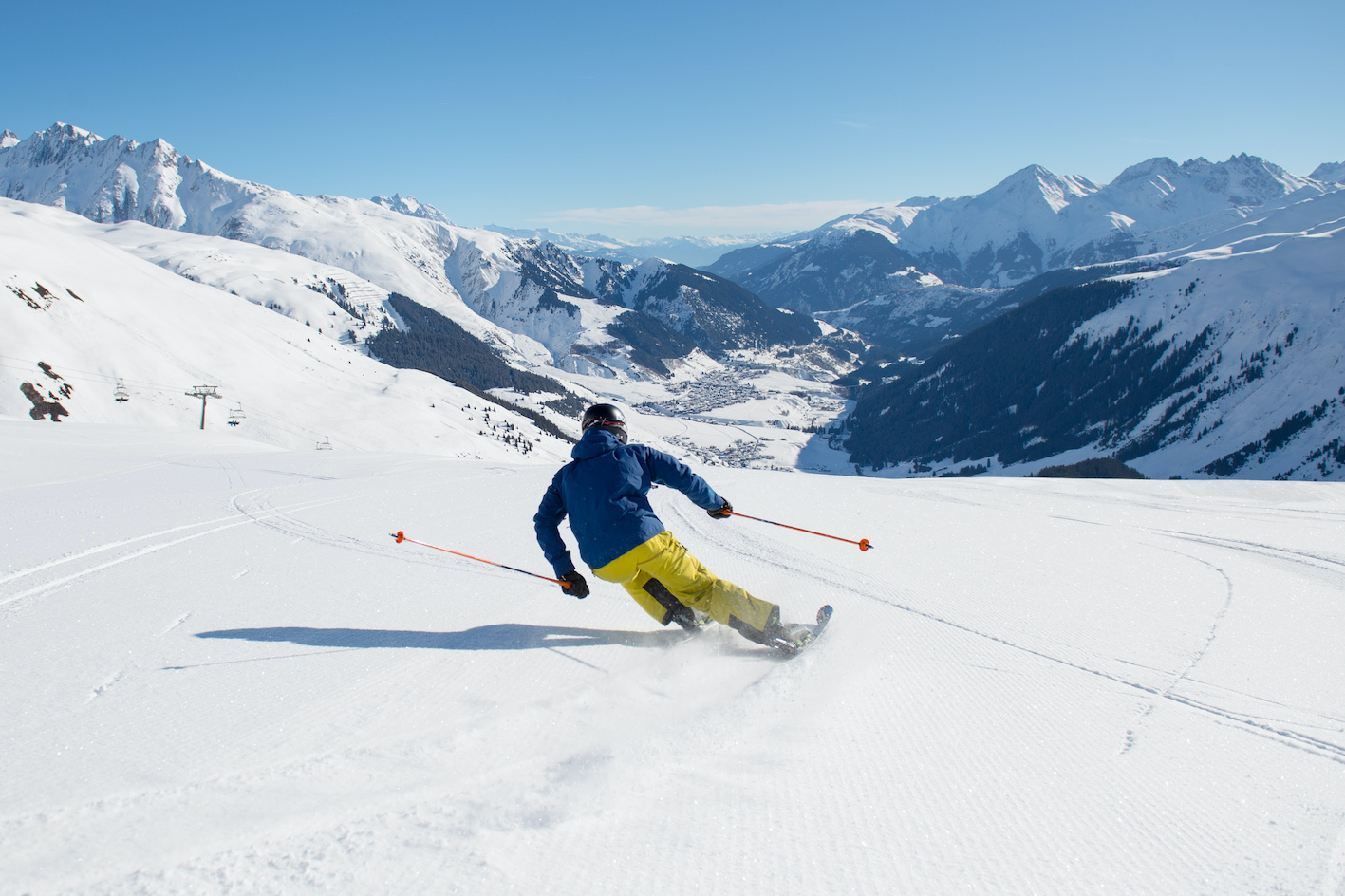 Andermatt offers brand new facilities and one of the best snow seasons in Switzerland (Photo: Andermatt Swiss Alps)