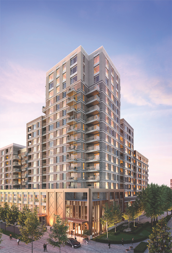 The South Core of Phoenix Court is the latest phase at Oval Village to be launched, with prices starting from £510,000 (Photo: Berkeley Homes)