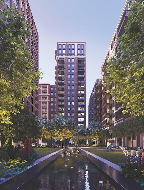 Prices at Asquith House start at £645,000 for a studio or Manhattan Apartment (Photo: Berkeley Homes)