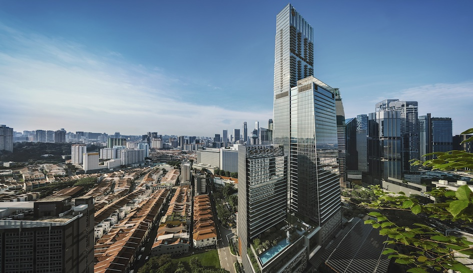 Projects like Wallich Residence, which is part of the Tanjong Pagar Centre integrated development have attracted foreign buyers including those fom Hong Kong and China