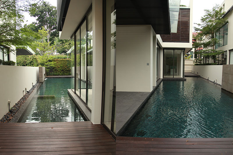 The first bungalow development for sale was along Kheam Hock Road (Photo: Jean Yip Group)