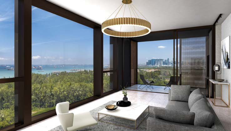 MEYER MANSION - Units are graced with floor-to-ceiling picture windows, hence maximising the stunning views one will get