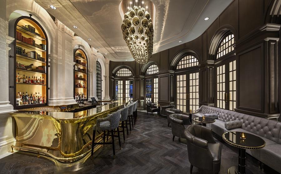 RAFFLES HOTEL SINGAPORE - Interior of the Writers Bar (Credit: Raffles Singapore)