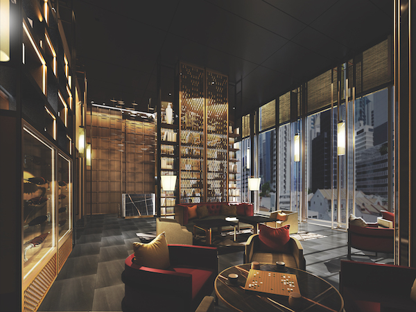 Lounge area at The Clan Hotel (Credit: Far East Hospitality/ Artist's Impression) - EDGEPROP SINGAPORE