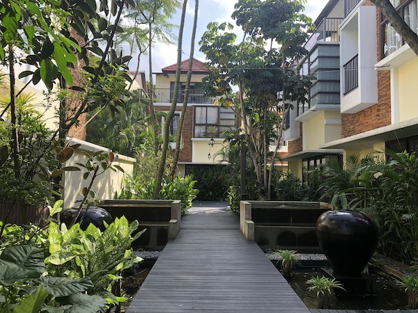 The 4,715 sq ft, three-storey cluster bungalow at Lornie 18 will be up for its fourth auction on Jan 20 (Credit: Knight Frank Singapore) - EDGEPROP SINGAPORE