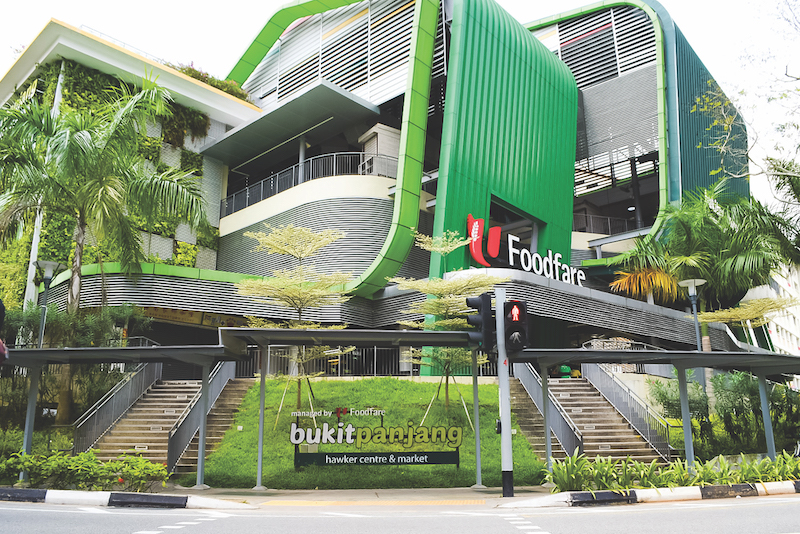 BUKIT PANJANG - Bukit Panjang Hawker Centre and Market opened in 2015