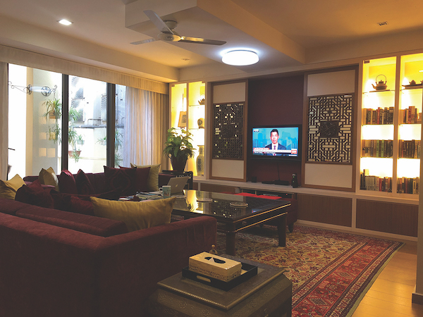 The living area of the property at Lornie 18 (Credit: Knight Frank Singapore) - EDGEPROP SINGAPORE