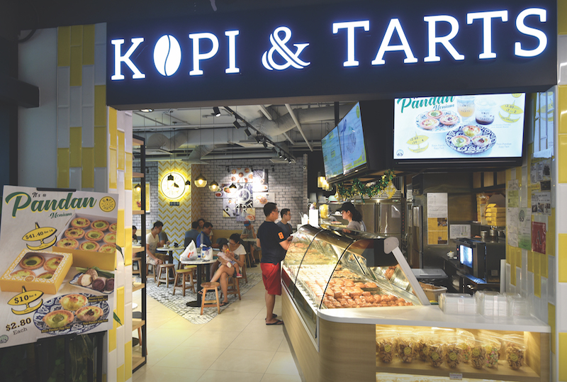 POTONG PASIR - Kopi & Tarts at The Poiz Centre has a variety of egg tarts, toast, and puffs  - EDGEPROP SINGAPORE