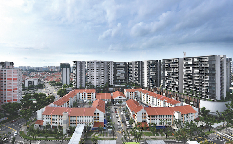 POTONG PASIR - View of The Poiz Centre and The Poiz Residences at the background