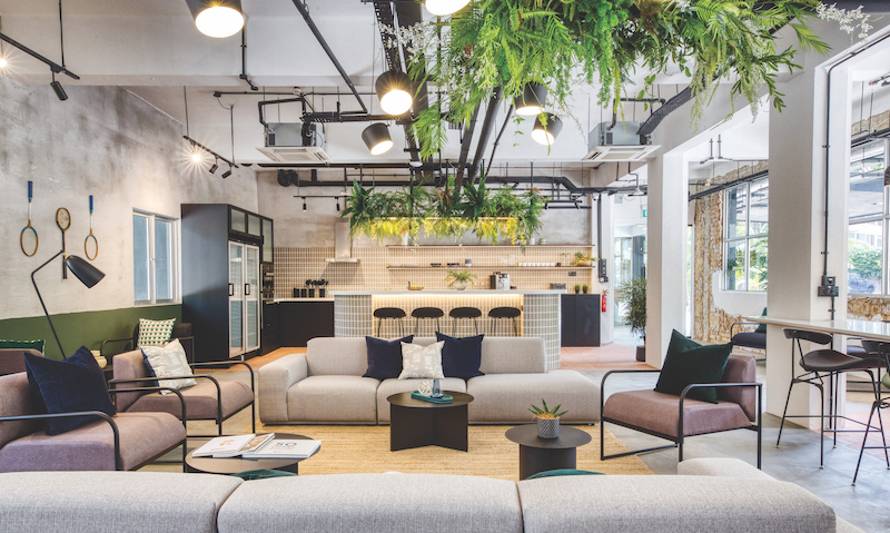 Hmlet的理念是建立一个紧密联系的社区,为会员提供无缝的住房选择,因此共同空间至关重要。(来源:Hmlet)