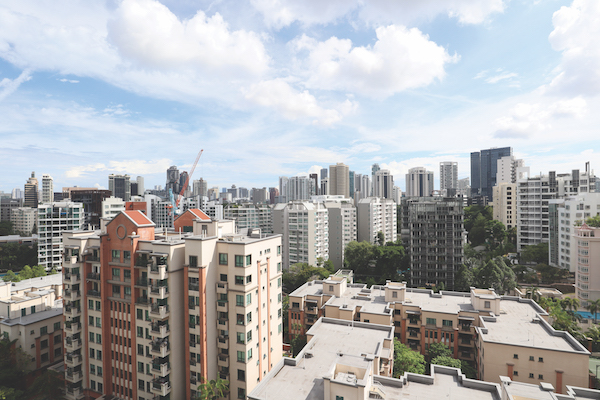 View from the balcony of the dining area (Credit: EDMUND TIE) - EDGEPROP SINGAPORE