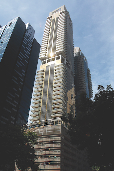 ONE SHENTON - The 99-year leasehold One Shenton comprises 341 units - EDGEPROP SINGAPORE