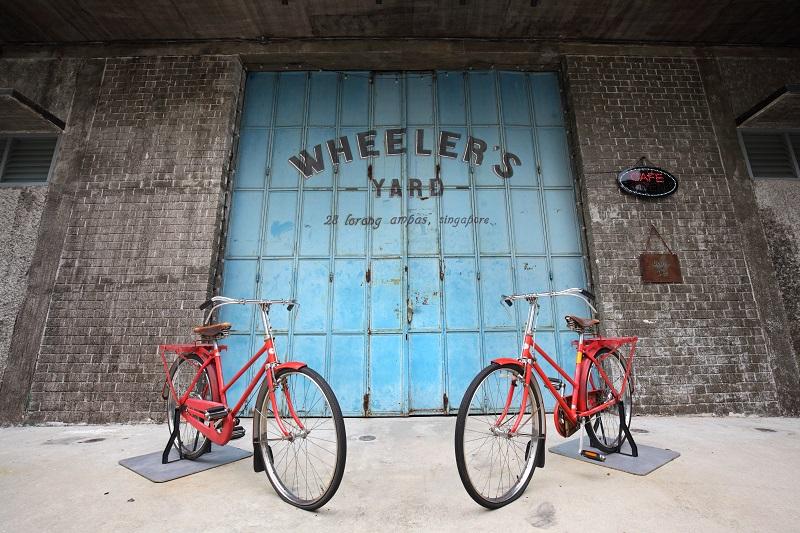 BALESTIER - Wheeler's Yard, a bicycle-themed cafe at 28 Lorong Ampas