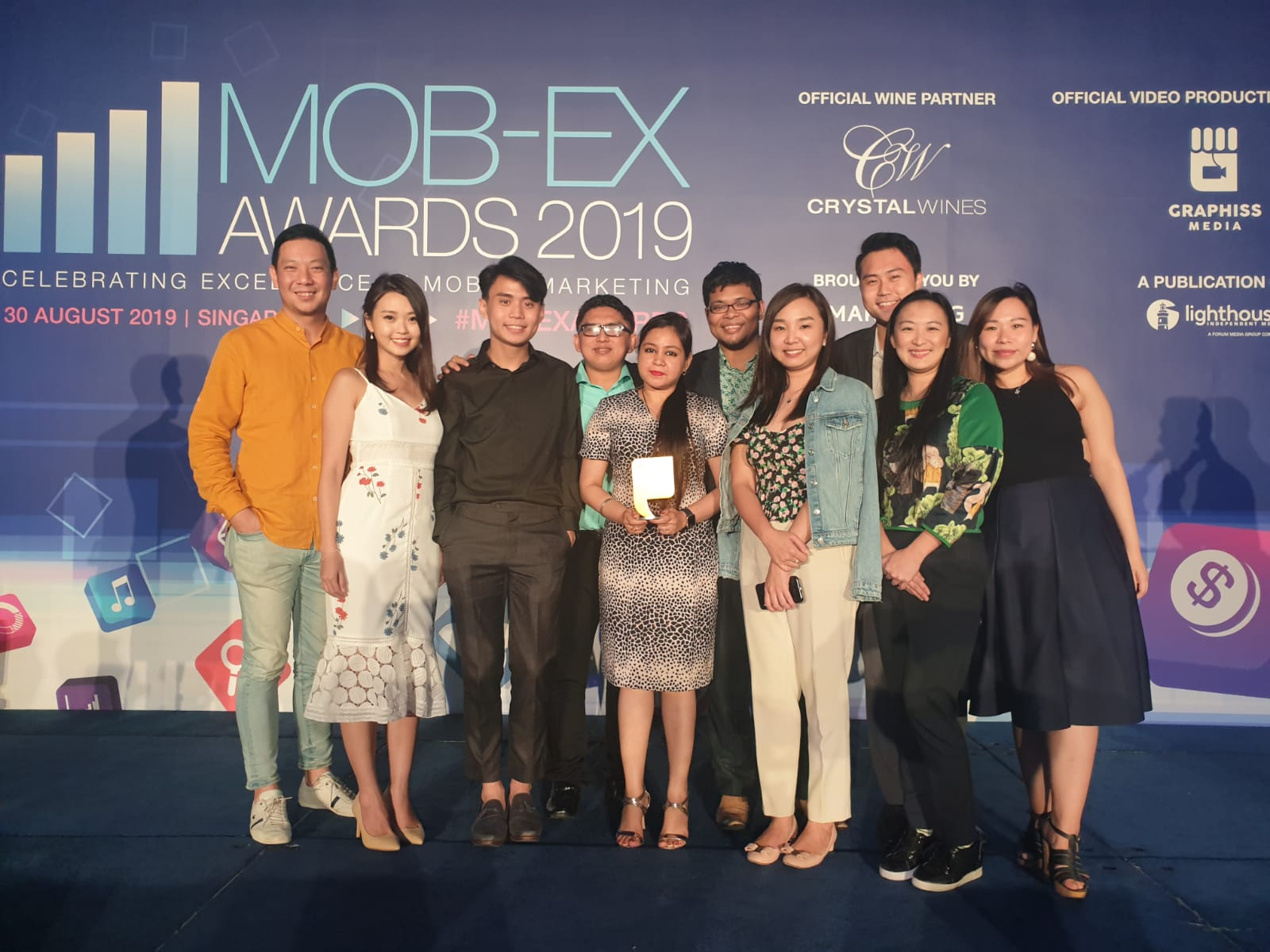 "MOB-EX AWARDS - EdgeProp Singapore was awarded Gold in the ""Best App – Property"" category for the Mobile Consumer App (Credit: EdgeProp Singapore)"
