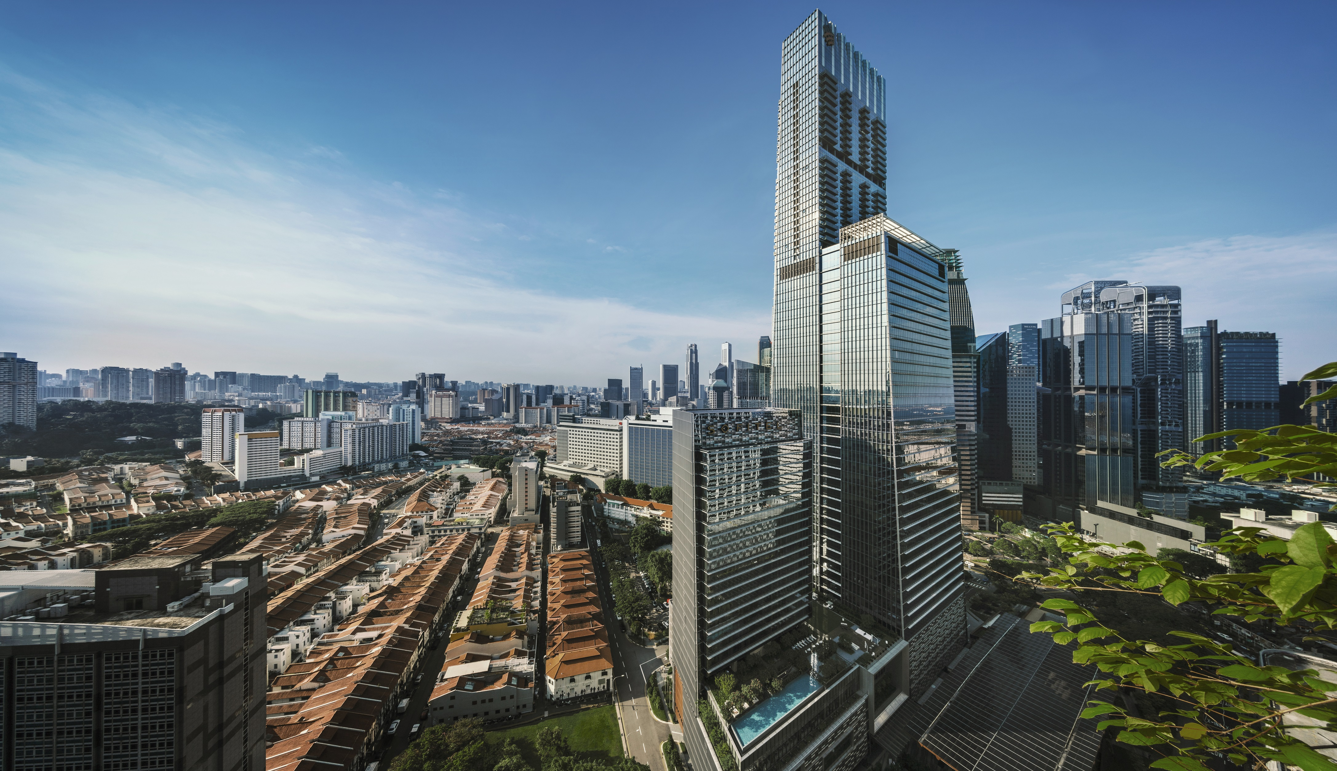 Guoco Tower was awarded the 2019 ULI Global Awards for Excellence (Credit: Darren Soh)