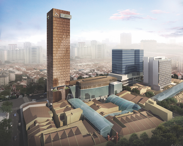The Clan Hotel Singapore is only minutes away from Raffles Place, yet is surrounded by heritage streets (Credit: Far East Hospitality/ Artist's Impression) - EDGEPROP SINGAPORE