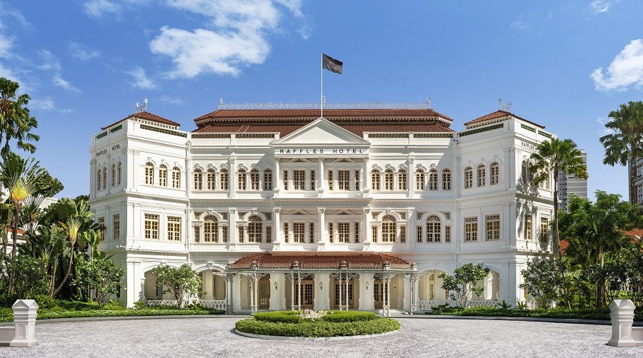 THE GREAT ROOM - Having closed since December 2017 for refurbishment, Raffles Hotel reopened on Aug 1 with The Great Room taking up 15,000 sq ft at the hotel's arcade
