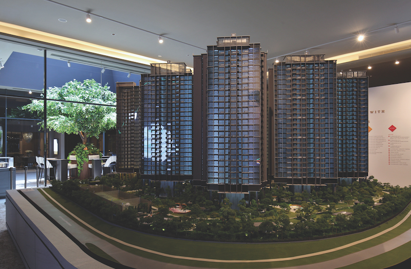 PARC CLEMATIS - Located on the former Park West site at Jalan Lempeng, the 1,468-unit Parc Clematis will be the first mega private residential launch in Clementi in 31⁄2 years (Credit: Samuel Isaac Chua/ EdgeProp Singapore)
