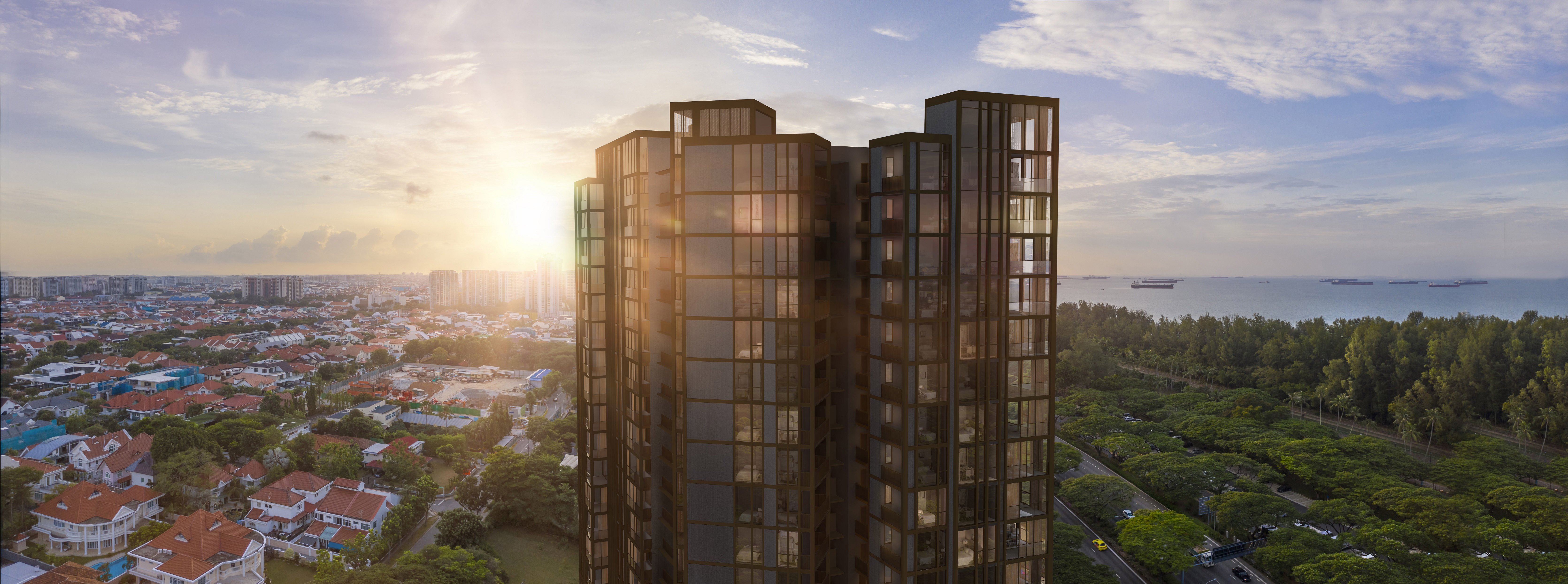 MEYER MANSION - The freehold Meyer Mansion comprises 200 units in a 25-storey residential tower (Credit: GuocoLand)