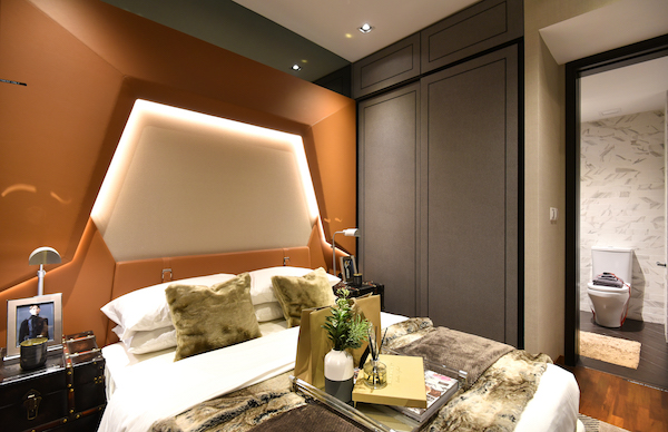 Mayfair Gardens - The bedroom of a one-plus-study unit (Credit: Albert Chua/ EdgeProp Singapore)