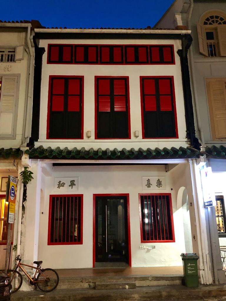 CONSERVATION SHOPHOUSE - 75 Amoy street is up for sale (Credit: Jesmond Lee/Huttons)