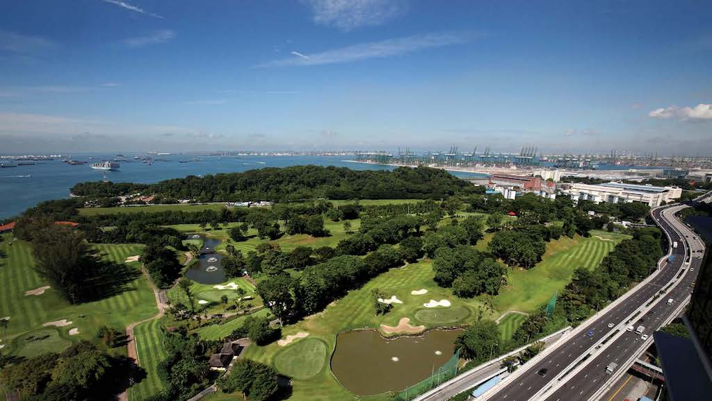 GREATER SOUTHERN WATERFRONT - View of Keppel Club golf course – where 9,000 new homes will spring up in the future (Credit: Samuel Isaac Chua/ EdgeProp Singapore) - EDGEPROP SINGAPORE