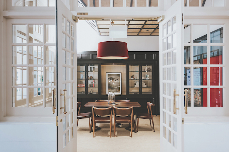 THE GREAT ROOM - Based on user data from its other locations that showed members preferred small meeting rooms for frequent meetings, The Great Room at Raffles Arcade is offering two ateliers that can each fit a group of eight