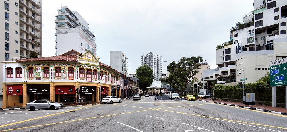 BALESTIER - Balestier is the place for architctural sightings, such as the Sim kwong Ho shophouses (left), and Balestier Point (right)