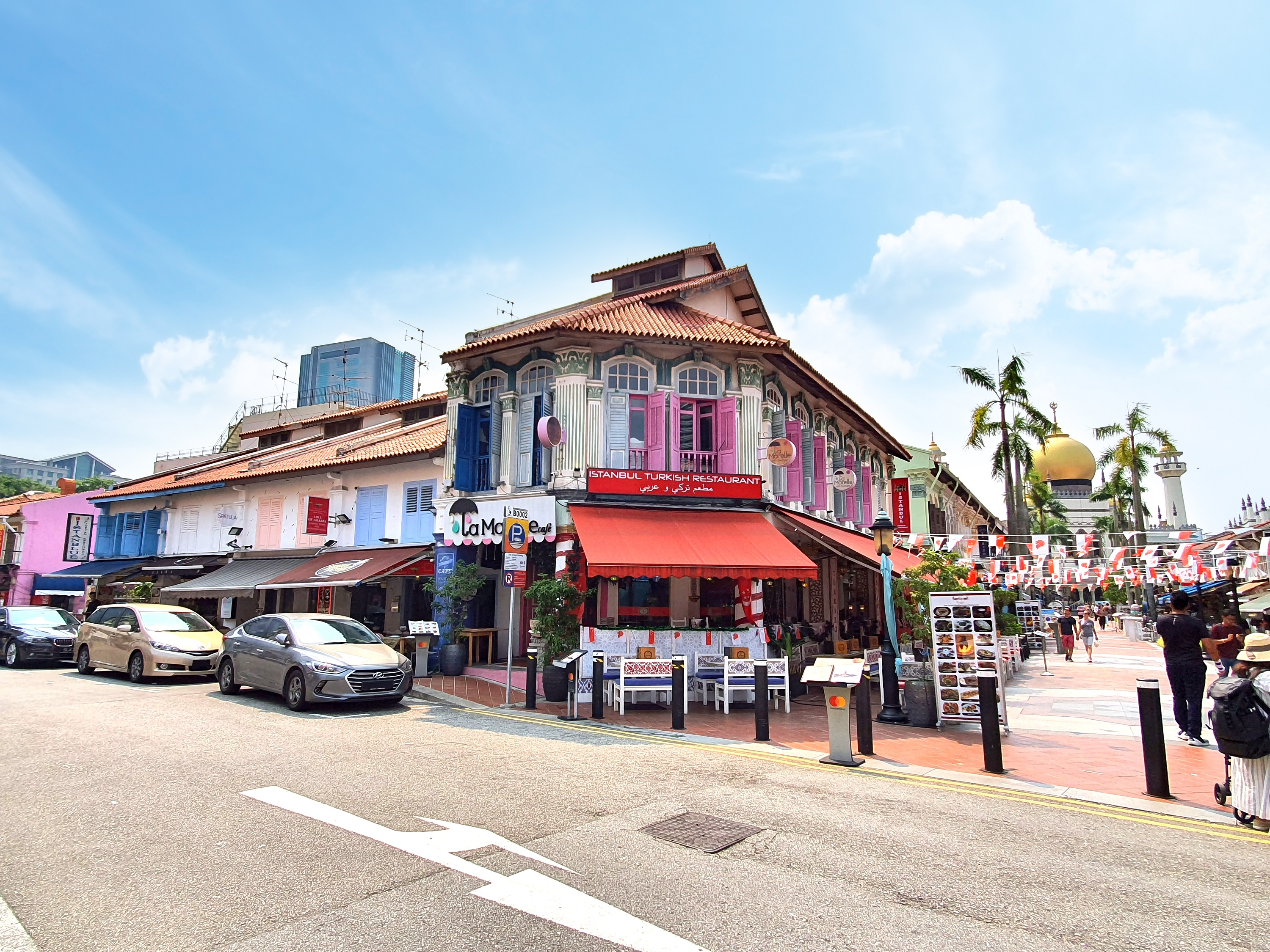 The five freehold shophouses are for sale at $23.8 mil (Credit: Knight Frank Pte Ltd.)