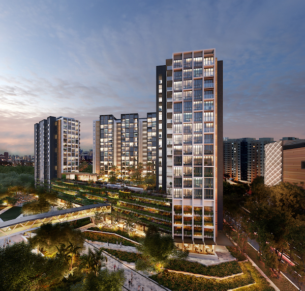 During its launch in March 2017, Park Place Residences sold 210 units in the first phase (Credit: Lendlease)