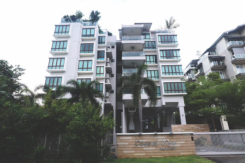 Coastal View Residences - Coastal View Residences is a 40-unit, 999-year leasehold condominium in District 17
