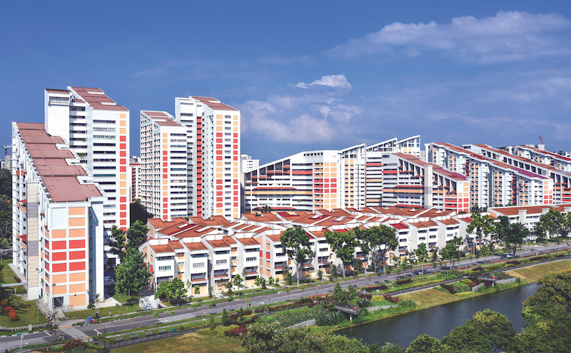 POTONG PASIR - The HDB flats in Potong Pasir are known for their iconic sloping roofs. #FINDYOURSPOT #REDISCOVER SINGAPORE #EDGEPROP - EDGEPROP SINGAPORE