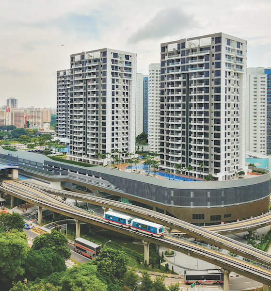 BUKIT PANJANG - Hillion Mall and Hillion Residences developed by Sim Lian Group and Sim Lian Development