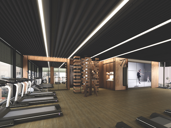 The Sky Gym at The Clan Hotel is inspired by the Chinese dojo (Credit: Far East Hospitality/ Artist's Impression) - EDGEPROP SINGAPORE