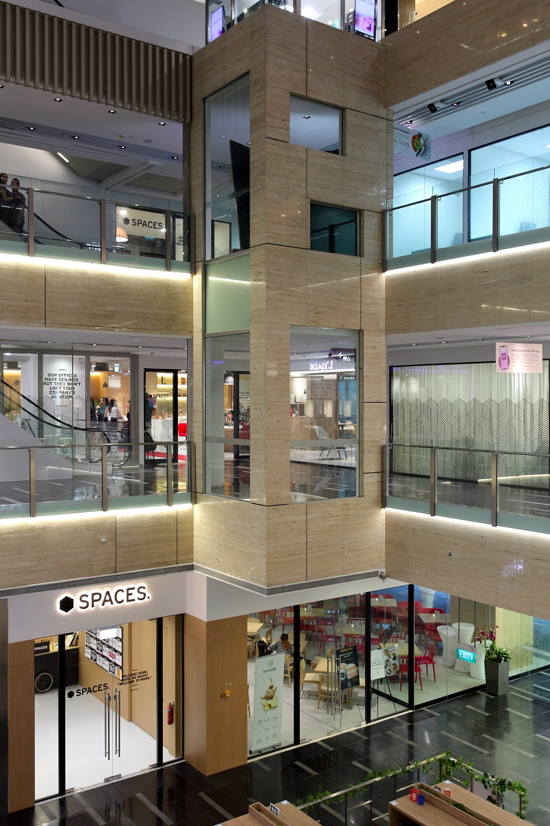 IWG - Spaces One Raffles Place is IWG's sixth Spaces location in Singapore (Credit: Samuel Isaac Chua/EdgeProp Singapore)