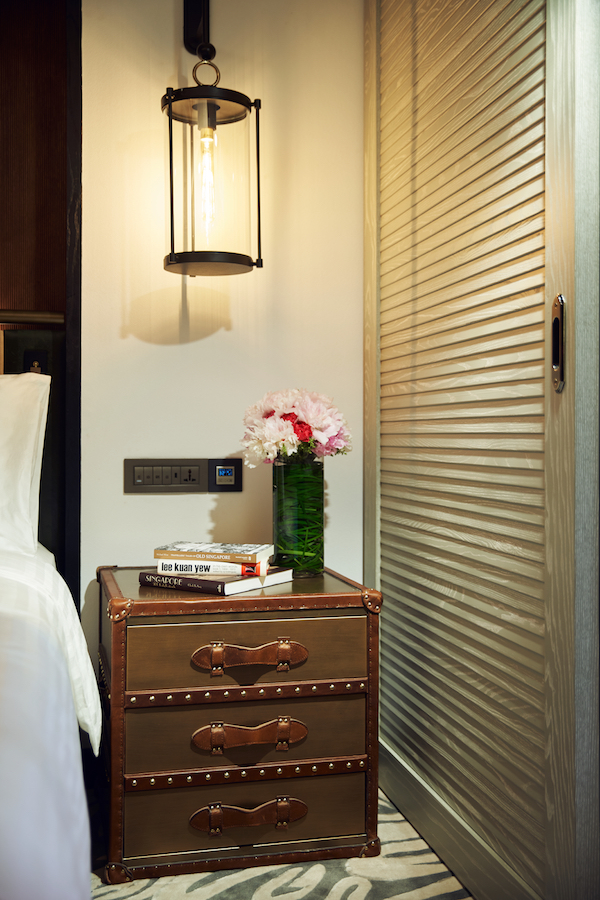 The bedside table in the Premier Room (Credit: Far East Hospitality) - EDGEPROP SINGAPORE