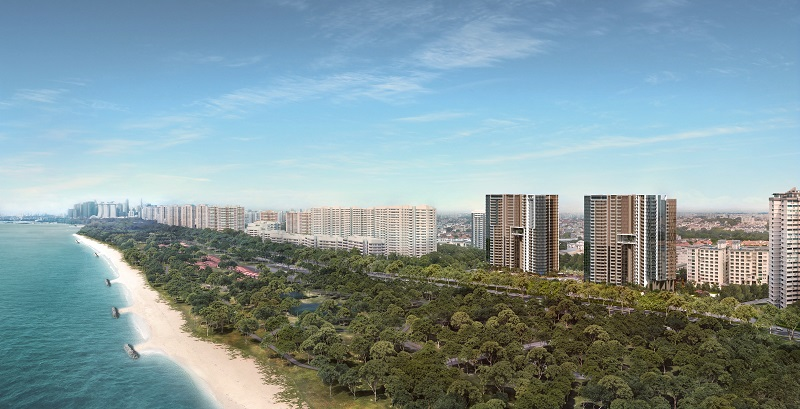 Seaside Residences is among new projects with highest sales transaction volumes in district 15 from January 2017 to January 2018.
