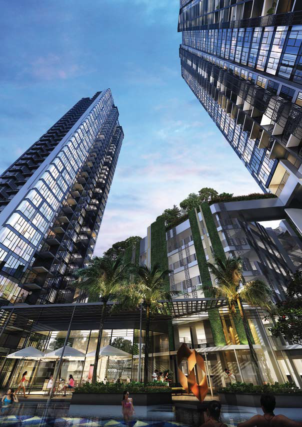 Gem Residences recorded one of the highest sales transaction volumes among new projects in district 12 over the past year.