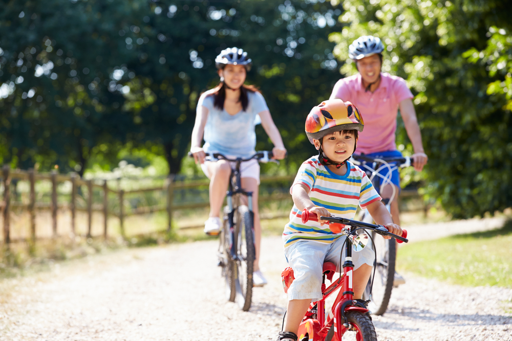 BUKIT TIMAH TANGLIN - Outdoor activity with family in Bukit Timah (bicycle) - EDGEPROP SINGAPORE