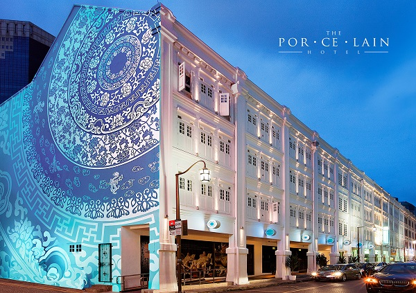 the porcelain hotel - The four-storey Porcelain Hotel is up for sale under an Expression of Interest exercise that closes on 27 March. (Photo: The Porcelain Hotel)
