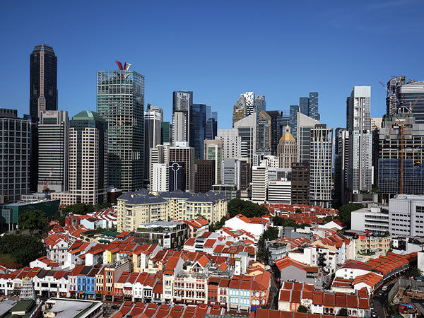 EDGEPROP SINGAPORE - Grade-A office rents are likely to rebound 2.6% in 2021, as demand will be driven by the fastest-growing technology sector (Photo: Samuel Isaac Chua/The Edge Singapore)
