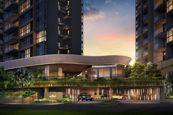the antares - The Antares at Macpherson is one of TA Corporation's ongoing developments, under a joint venture with Keong Hong Holdings and Hock Lian Seng Holdings. (Artist Impression: FSKH Development) - EDGEPROP SINGAPORE