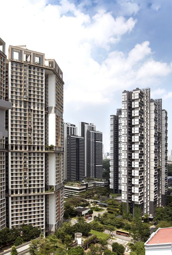 EDGEPROP SINGAPORE - skyville dawson Units at SkyVille at Dawson (left most) and SkyTerrace at Dawson (right most) are still being sold despite no face-to-face viewings (Photo: Albert Chua/The Edge Singapore)