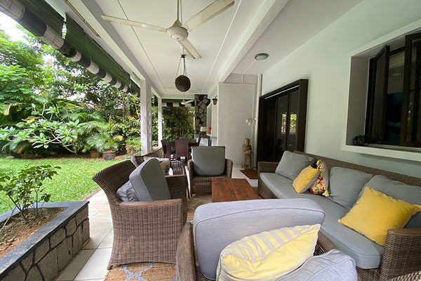 The outdoor patio - EDGEPROP SINGAPORE
