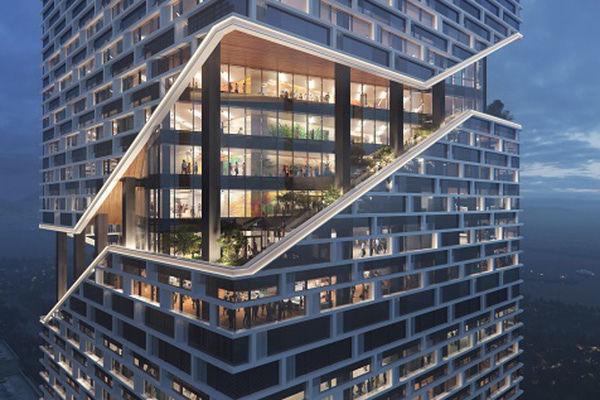 nbbj shenzhen vivo bao'an district design