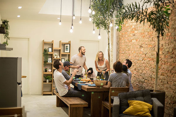 co-living space hmlet